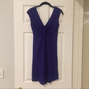 Express jewel purple ruch front dress size XS